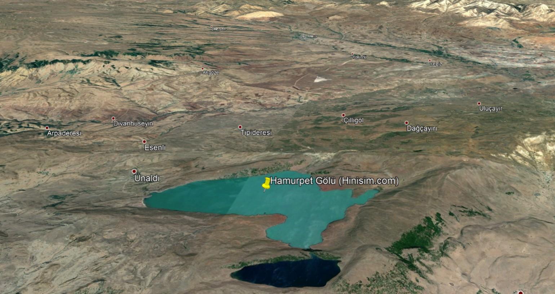 Hamurpet Gölü Uydu Görüntüsü