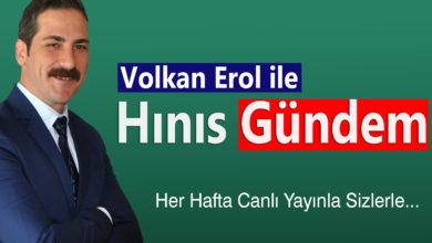 Photo of Volkan Erol ile Hınıs Gündem'de Bu Hafta
