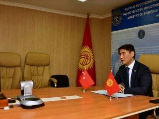 Kırgızistan'dan Türkiye'ye teşekkür