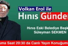 Photo of Hınıs Eski Belediye Başkanı Süleyman Sekmen Hınıs Gündem de