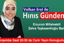 Photo of Hınıs Gündem de Bu Hafta Zehra Taşkesenlioğlu Ban Konuğumuz Olacak