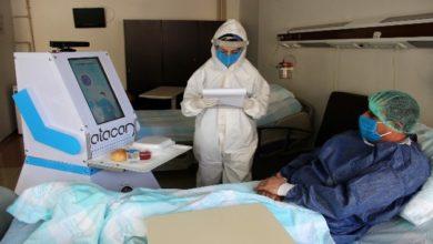 Photo of Covid hastalarının yeni bakıcısı robot hemşire 'Atacan'