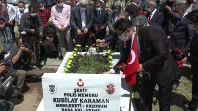 Photo of Erzurum'da 15 Temmuz şehitleri mezarı başında anıldı