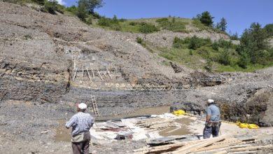 Photo of Oltu Esenyamaç Göleti inşaat çalışmaları devam ediyor