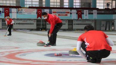 Photo of Curling Milli Takımı, Erzurum'da kampa girdi