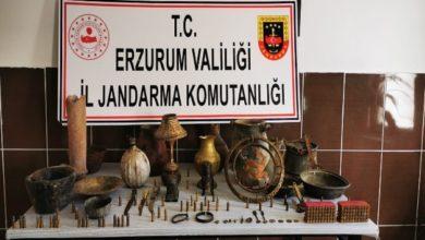 Photo of Erzurum'da tarihi eser kaçakçılık operasyonu
