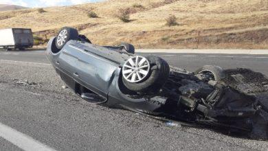 Photo of Tepebaşı mevkiinde trafik kazası