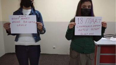 Photo of Hınıs Şehit Ahmet Akdağ İlköğretim Okulunda Çanakkale Zaferi